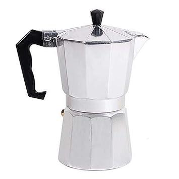 Kbsin212 - Cafetera Italiana para cafetera Italiana de café Espresso – Estufa Italiana Octogonal de Aluminio