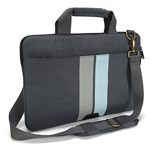 Targus Geo 15.6-Inch Laptop Slip Case, Gray/Black (TSS66704) - Slick Open Loop