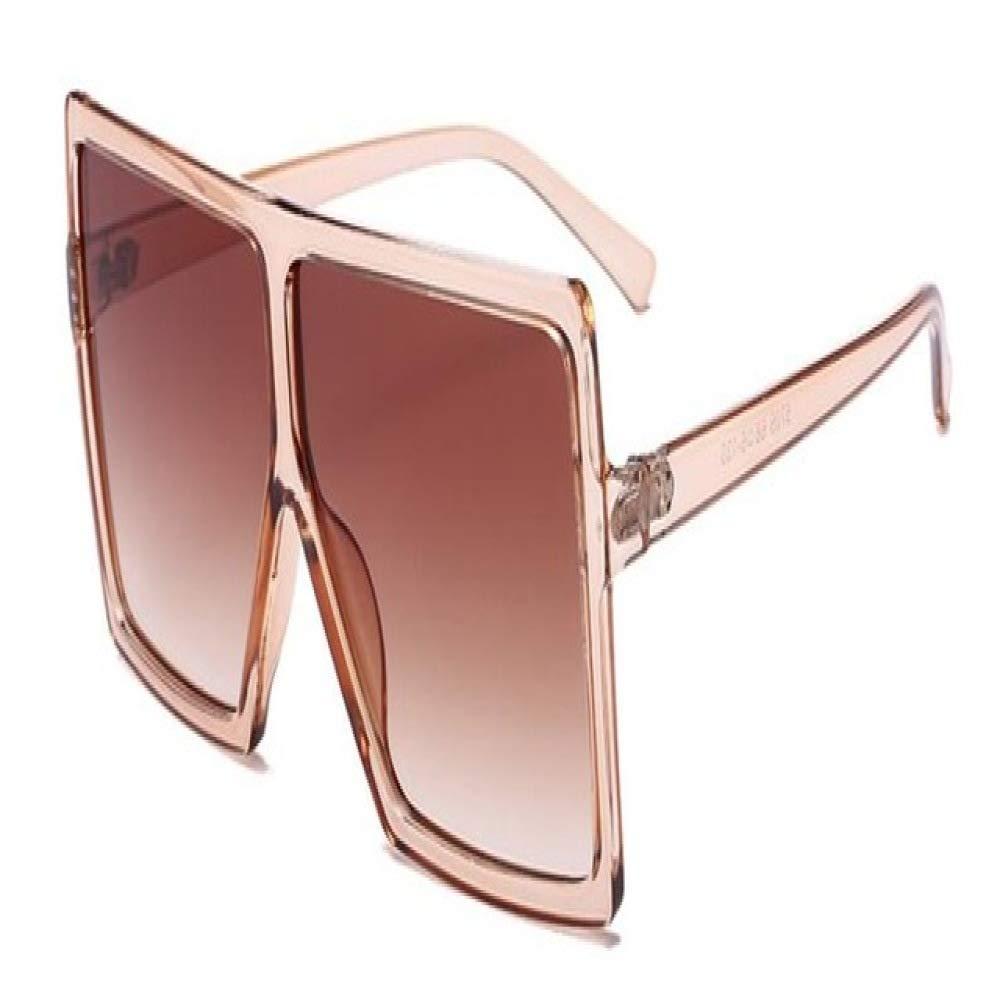 Yangjing-hl Sombras de Gran tamaño Gafas de Sol de Mujer ...