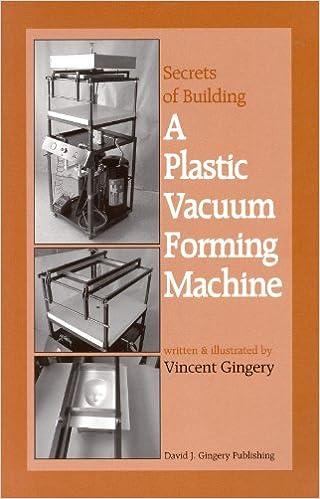 The secrets of building a plastic vacuum forming machine vincent r the secrets of building a plastic vacuum forming machine vincent r gingery 9781878087225 amazon books solutioingenieria Image collections