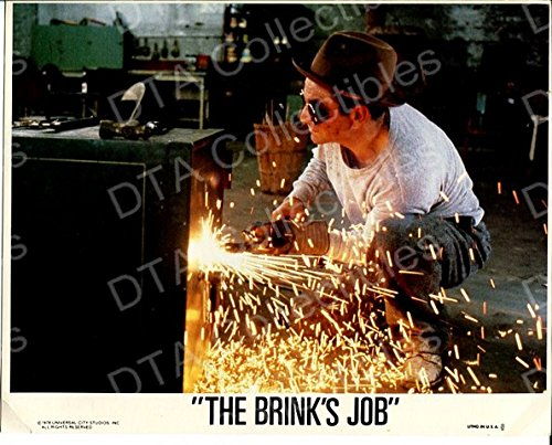 MOVIE PHOTO: THE BRINK'S JOB-1978-SAFE CRACKING SCENE-8X10 FN