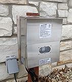 600 Watt WSS Stainless Steel Low Voltage Transformer Landscape Garden Lighting By Pinnacle