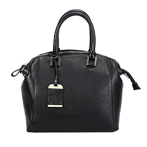 E Sac Noir bandoulière Sac épaule A8210 Sac main main à LF portés cuir fashion en portés Sac Girl femme pqSgrp