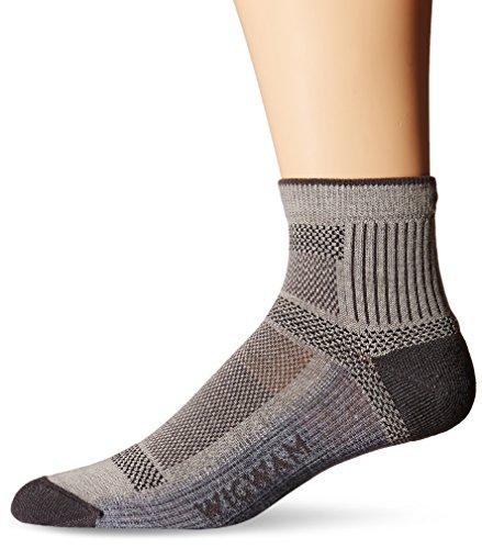 Socks Quarter Wigwam - Wigwam Men's Ultra Cool-Lite Ultimax Ultra-Lightweight Quarter Sock,Grey,Large/shoe Size:Men's 9-12,Women's 10-13