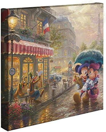 Thomas Kinkade Studios Disney Mickey and Minnie