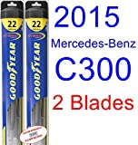 2015 Mercedes-Benz C300 Replacement Wiper Blade Set/Kit (Set of 2...