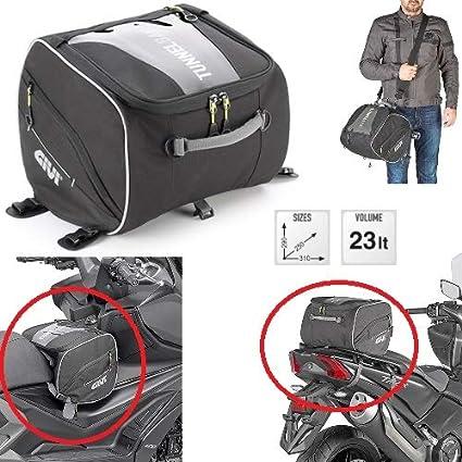 Compatible con Peugeot Metropolis 400 Bolsa de sillín o ...