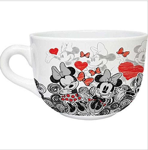Mickey Mouse Coffee Mug (DISNEY MINNIE MOUSE DREAM CAFE MUG SOUP BOWL by Jerry Leigh)