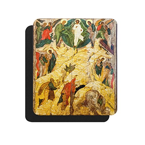 Russian Orthodox Icon Transfiguration Computer Laptop Mouse Pad