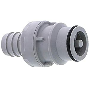 CPC (Colder) HFC22812 CPC (Colder) HFC22812 Quick-Disconnect Fittings, Straight-Through Hose barbs Inserts, PP, 1/2