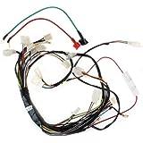 amazon com 10z 50cc 70cc 90cc 110cc wire harness wiring assembly main wire harness for 110cc 125 cc atvs quad 4 wheeler