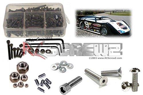 RC Screwz Stainless Steel Screw Kit for Custom Works Rocket Late Model