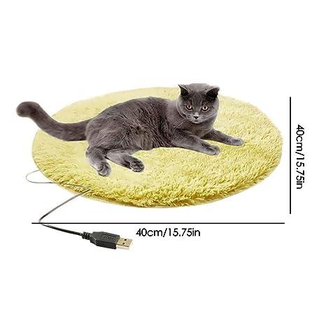 Sue-Supply Almohadilla Calefactora USB Manta para Mascotas ...