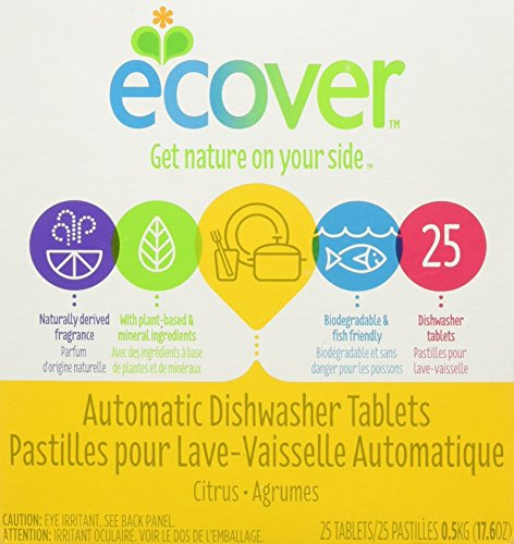 Dishwashing Tablets Ecover Automatic (Ecover Ecological Automatic Dishwasher Tablets -- 25 Tablets)