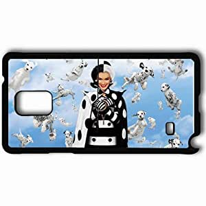 Personalized Samsung Note 4 Cell phone Case/Cover Skin 101 Dalmatians Black hjbrhga1544