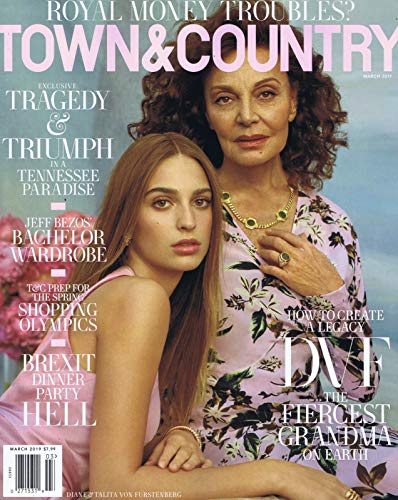 TOWN & COUNTRY 最新号 表紙画像