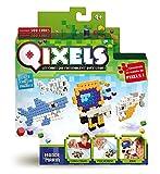 Qixels - Kk87001 - Mini Kit 4 Créations - Thème Monde Marin
