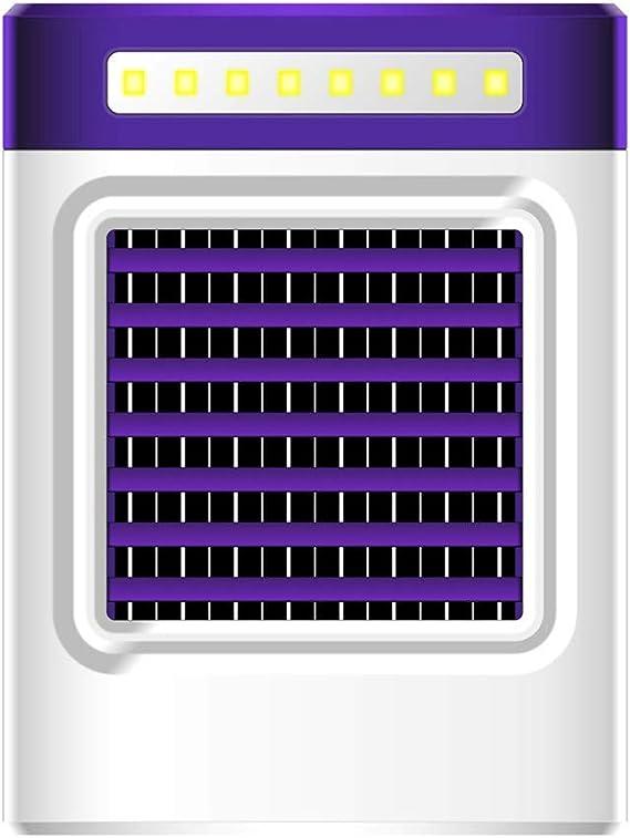 ESAILQ-Home Nueva Carga S9 Mini Ventilador de Aire Acondicionado ...