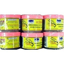 Kung Thai Shrimp Paste 90 G. Pack 6.