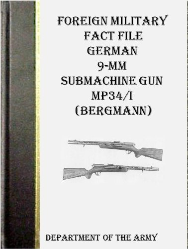 Foreign Military Fact File German 9-mm Submachine Gun MP34/I ()