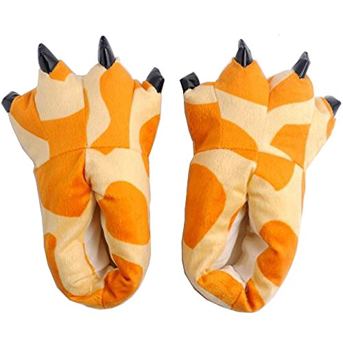 Cosplay Chaussons Halloween Deguisement pour Adulte Flannel Girafe Animaux Unisexe Pyjama r8nY0rwfq