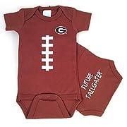 Future Tailgater Georgia Bulldogs Baby Football Onesie (3-6 Months)