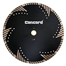 Concord Blades STM100D10HP 10 Inch Granite and Marble Segmented Turbo Teeth Diamond Blade