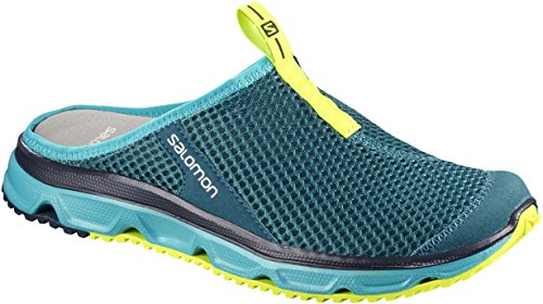 0 RX 3 Safety Turquesa Salomon para Yellow Mujer Slide Deep Lagoon Bluebird Zuecos tSqt1d