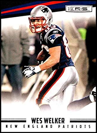 2012 Panini Rookies and Stars  85 Wes Welker NM-MT New England Patriots  Official af0cc180f