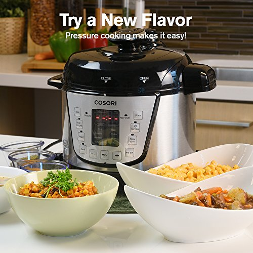 COSORI Electric Pressure Cooker Unique Small 7-in-1 Multi-Functional, Programmable Non-Stick Steam Rice Cookware, 2 Quart/800W