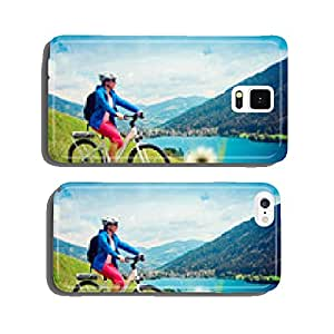 girl with e-bike in nature / e-power 04 cell phone cover case iPhone5