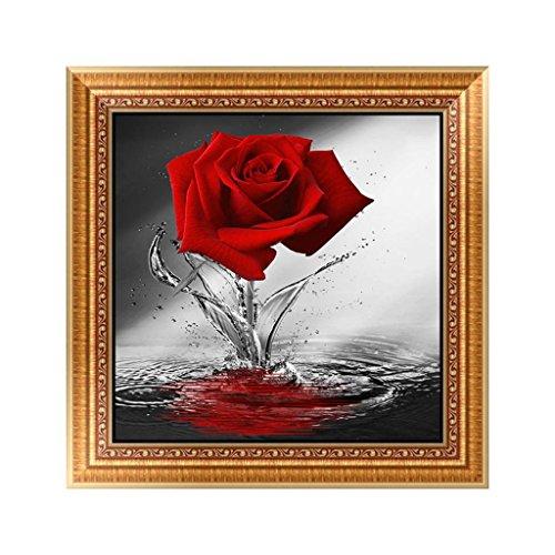 Vintage Rose Cross Stitch - 6