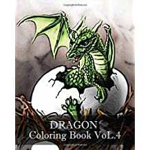 DRAGON : Coloring Book VoL.4: Sketch Coloring Book, Design Coloring Book