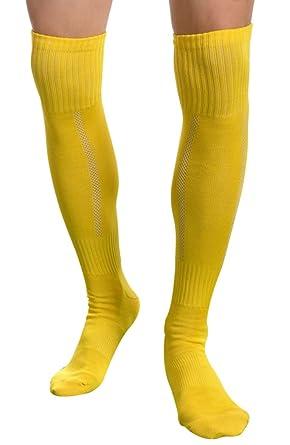 Fascigirl Longitud de la Rodilla Hombre Calcetines Running Medias Deportivos Fútbol Tenis Calcetines: Amazon.es: Ropa y accesorios