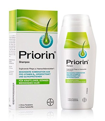 PRIORIN Shampoo Hair Growth Formula - Weak & Thinning Hair - 200mL (Made Germany/Ship from US)