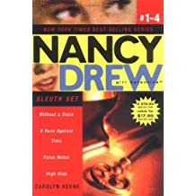 Nancy Drew Girl Detective (Boxed Set): Sleuth Set: Without a Trace; A Race Against Time; False Notes; High Risk