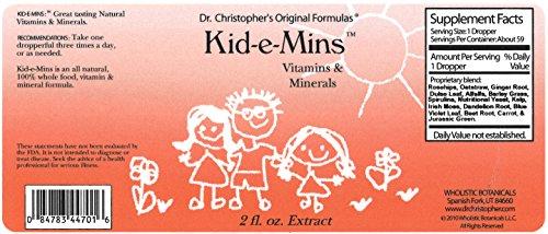 Cheap Dr. Christopher Kid-e-Mins Vitamin's and Minerals 2 oz Liquid