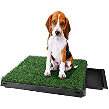 Utheing Dog Potty Training Grass Pad, Anti-Slip Non-toxic for Indoor and Outdoor