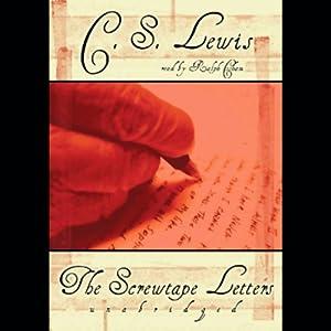 the screwtape letters audible audiobook unabridged cs lewis