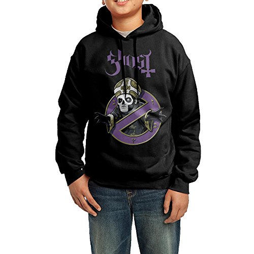 GGDD Youth Ghost With The Band's Logo Hip-Hop Casual Style Hoodie Sweatshirt Casual Style M (Ghost Rider Costume For Sale)