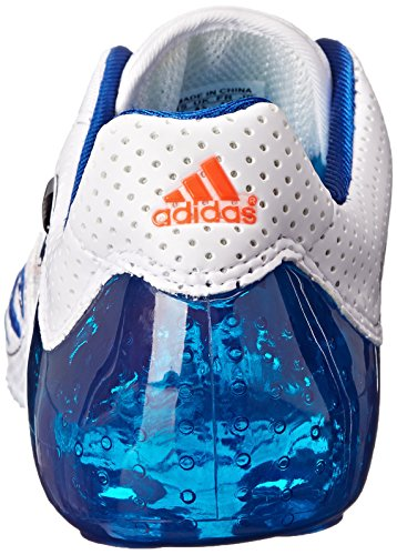 Adidas F50.8 Tunit CC Upper Mens Soccer Cleats Size US 10, Regular Width, Color White/Royal