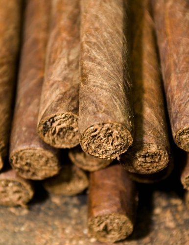 Cuban Cigars Rolled by Hand, Jumbo Oversized: Blank 150 page lined journal for your thoughts, ideas, and inspiration by Unique Journal (2016-06-06)