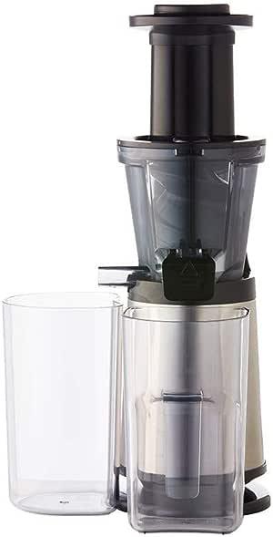 Russell Hobbs RHSJ100 Luxe Cold Press Slow Juicer,Metallic