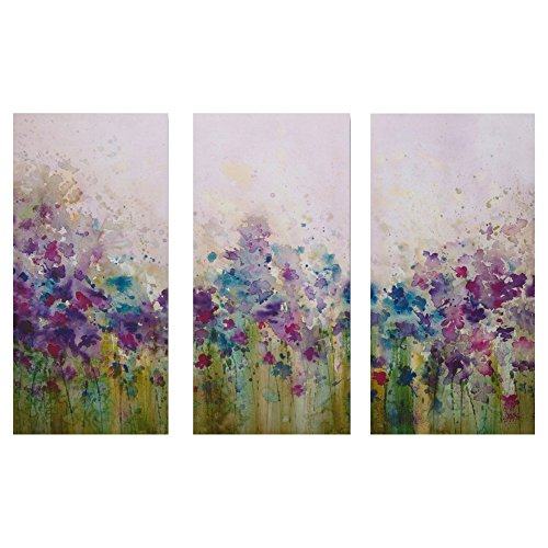 Watercolor Meadow Printed Canvas Art - 24