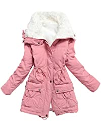Amazon.com: Pinks - Fur & Faux Fur / Coats, Jackets