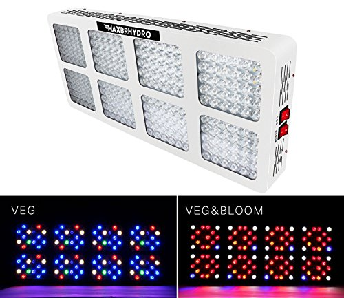 2400W LED Grow Lights 12-Band Full Spectrum Plant Growing Light with UV/IR for Veg and Flower