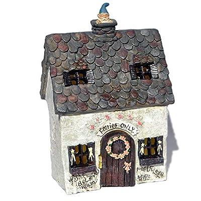 Wholesale Fairy Gardens Miniature Garden Fairy Escape Cottage with Hinged Door: Home & Kitchen