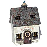 Wholesale Fairy Gardens Miniature Garden Fairy Escape Cottage with Hinged Door For Sale