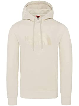 9513ddd903 The North Face Light Drew Peak Sweat-Shirt à Capuche Homme, Blanc (Vintage