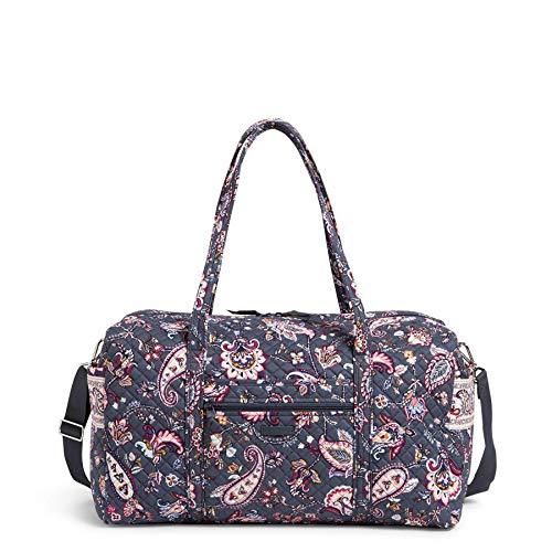Vera Bradley womens Signature Cotton Duffel Travel Bag, Felicity Paisley, Large 22 US